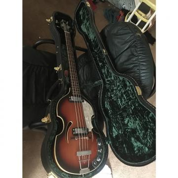 Custom Klira beatle bass 1960's sunburst