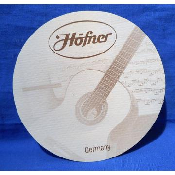 Custom HOFNER ACOUSTIC AND CLASSICAL GUITAR SOUND HOLE LABEL GERMANY