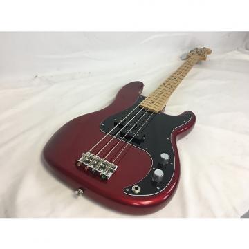 Custom Fender P Bass Special USA Red W/Gig Bag