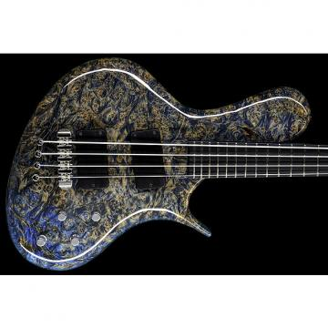 Custom Ritter R8 Singlecut Bass Guitar Solid Maple Burl