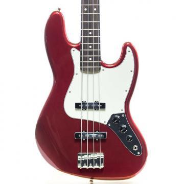 Custom Fender Standard Jazz Bass Guitar Candy Apple Red