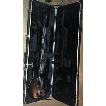Custom Ernie Ball Music Man StingRay 4 HH Stealth 2013 or 14 E94247 Black and black