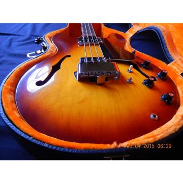 Custom Gibson EB-2D Hollow Body Bass 1972 sunburst