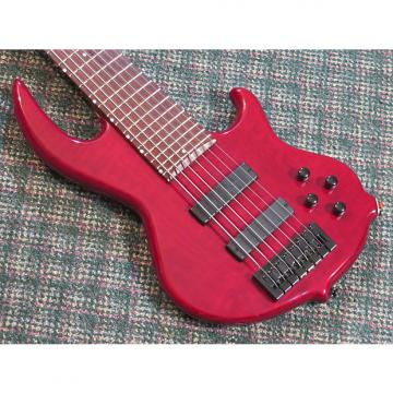 Custom Conklin Groove Tools GT7 7 String Bass Red!