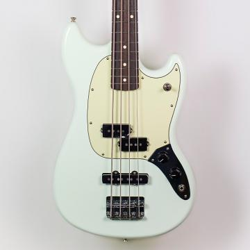 Custom Fender Offset Series Mustang Bass PJ in Sonic Blue