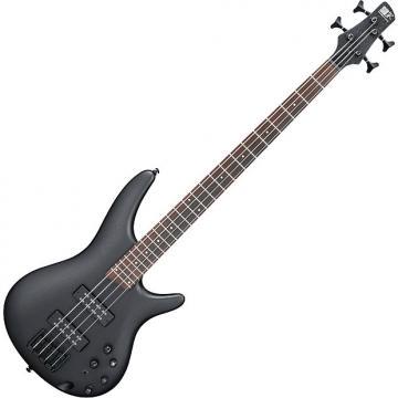 Custom Ibanez SR Standard SR300EB Electric Bass Weathered Black