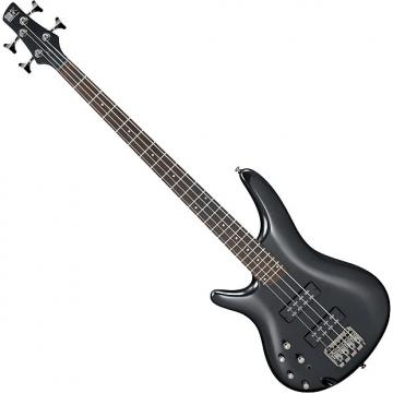Custom Ibanez SR Standard SR300EL Left-Handed Electric Bass Iron Pewter