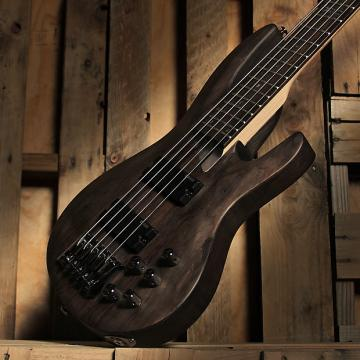 Custom ESP LTD B-205 SM 5-String Electric Bass Guitar 2010's Spalted Maple