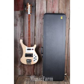 Custom Rickenbacker 4003S MG 4 String Bass Electric Guitar MapleGlo with Hardshell Case