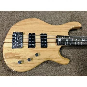 Custom PRS SE Kingfisher Bass 4-String Electric Bass, Ash Body, Maple/Walnut Neck, Natural, Bag