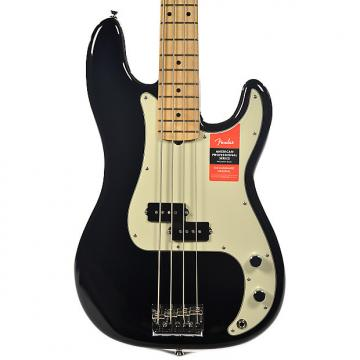 Custom Fender American Pro Precision Bass MN Black