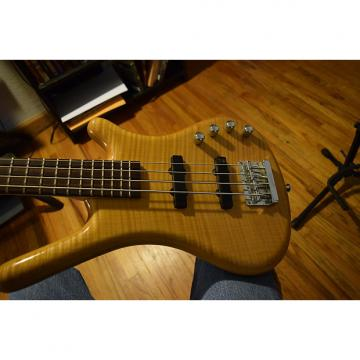 Custom Warwick rockbass corvette premium bass, with Gator case