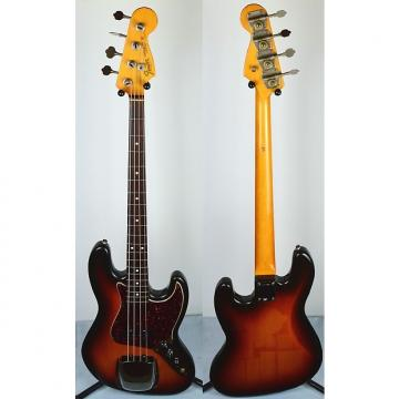 Custom Fender '62 American Vintage Reissue Jazz Bass 1990s 3 Color Sunburst