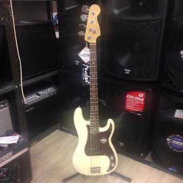 Custom Fender American Standard Precision Bass Olympic White