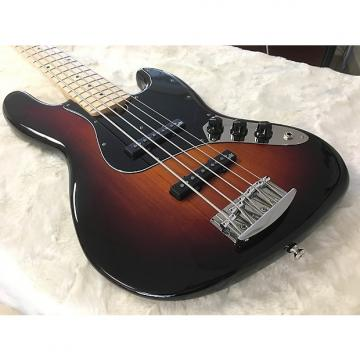 Custom Roscoe Classic 5JJ Bass - Tobacco Sunburst, Maple.