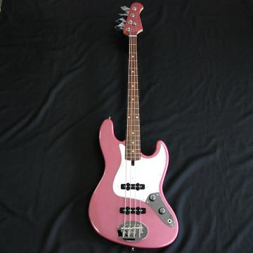 Custom Lakland USA 44-60 Burgundy Mist 4 String Bass FREE Tech 21 Sans Amp DI