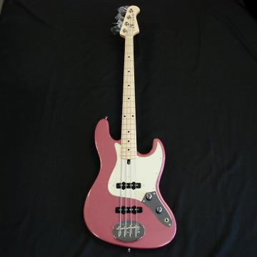 Custom Lakland USA 44-60  Burgundy Mist 4 String Bass FREE Tech 21 Sans Amp DI