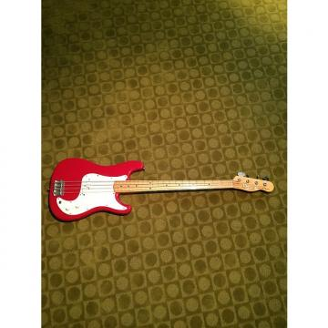 Custom Vintage Fender Bullet Bass Deluxe B-34 1980s Red