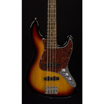 Custom Fender Squier Vintage Modified Jazz Bass 3-Color Sunburst