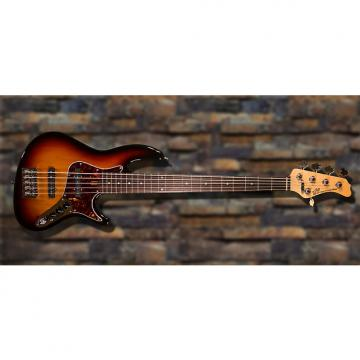 Custom New York Bass Works Reference Series RS5-22 3 Tone Sunburst