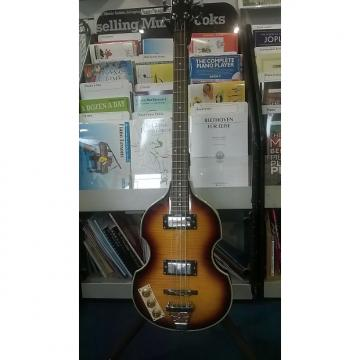 Custom Shine Violin Bass Sunburst