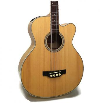 Custom Takamine GB72CE-NAT G Series Jumbo Cutaway Acoustic-Electric Bass - Natural