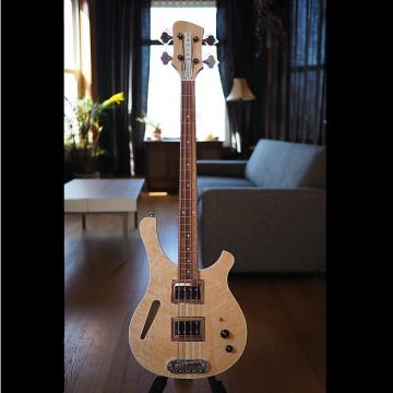 Custom Serek Basses Sacramento Short Scale Bass 2017 Natural Oil / Birdseye Maple