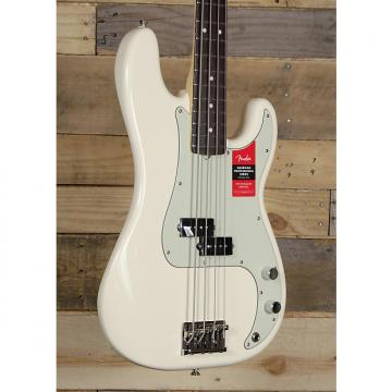 Custom Fender American Pro Precision Bass Olympic White w/ Case