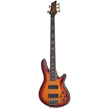 Custom Schecter Omen Extreme-5 Vintage Sunburst VSB *B-Stock* 5-String Bass Guitar Extreme 5