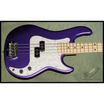 Custom G&L LB-100 2017 Royal Purple Metallic