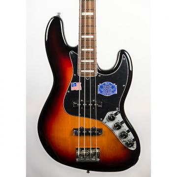 Custom Fender American Deluxe Jazz Bass in 3-Color Sunburst
