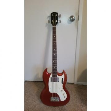 Custom Gibson Melody Make Bass Guitar  1960s Sparkling Burgundy