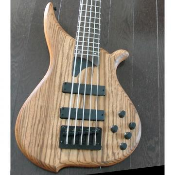 Custom TUNE Hatsun TWB53 ZB - 5 String Bass - Zebra Wood Top - Black Hardware - NEW - Authorized Dealer