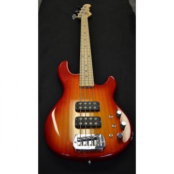 Custom G & L USA L-2000 Bass Cherry Burst