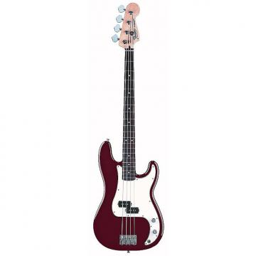 Custom Fender Standard Precision Bass Midnight Wine Electric Bass 0136100375