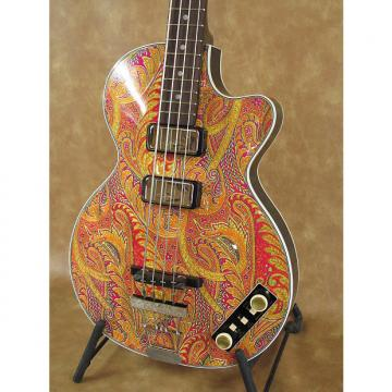 "Custom Gold Label Hofner 500/2 Club Bass Special Edition ""Paisley"""