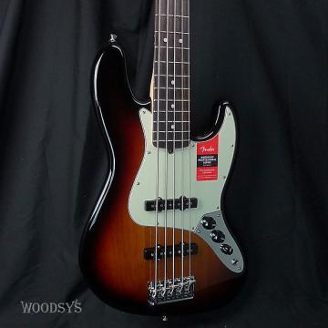Custom Fender American Professional Jazz Bass V - Sunburst / Rosewood