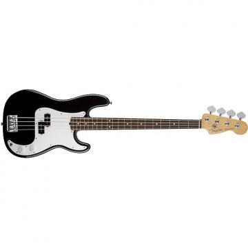 Custom Fender Standard Precision Bass Black Electric Bass Guitar 0136100306