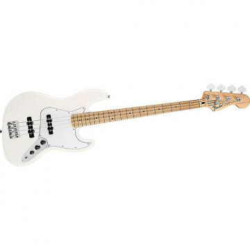 Custom Fender Standard Jazz Bass Arctic White Maple Neck 0146202380