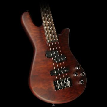 Custom Spector Legend 4 Neck-Thru Electric Bass Guitar Walnut Matte