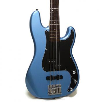 Custom Squier Vintage Modified Precision Bass PJ Electric Bass - Lake Placid Blue