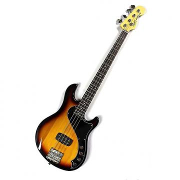 Custom Squier Deluxe Dimension Bass IV - 3-Color Sunburst