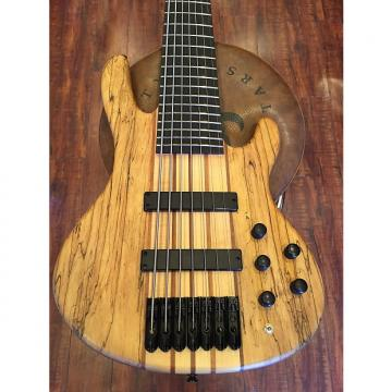Custom Wolf 7 String Active/Passive Bass Satin Spalt Maple, SKB Bass Case