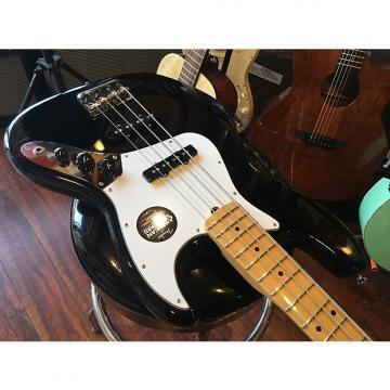 Custom Fender American Standard Jazz Bass Black w/ Molded rectangular case