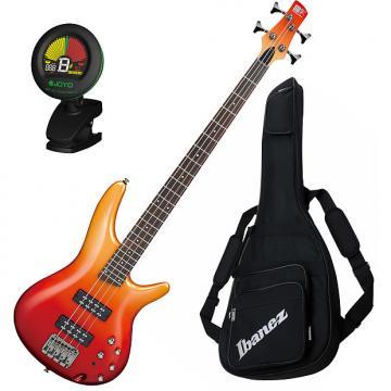 Custom Ibanez SR300E AFM 4-String Electric Bass Guitar Bundle
