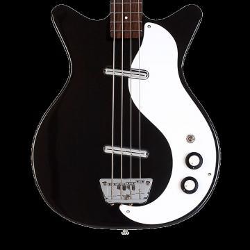 Custom Danelectro '59DC Long Scale Bass - Black
