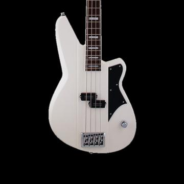 Custom NEW! 2017 Reverend Meshell Ndegeocello Fellowship Bass in Pearl White *FREE Same-Day Shipping*