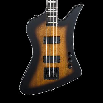 Custom Jackson JS Series Kelly Bird JS2 Electric Bass - Tobacco Burst