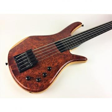 Custom Zon Sonus 5st Fretless Lightwave 2000 High Gloss Natural