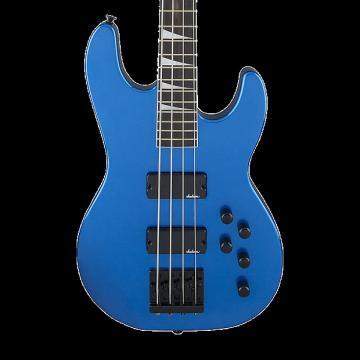 Custom Jackson JS Series Concert Bass JS3 - Metallic Blue